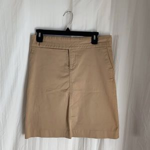Old Navy Khaki Pencil Skirt